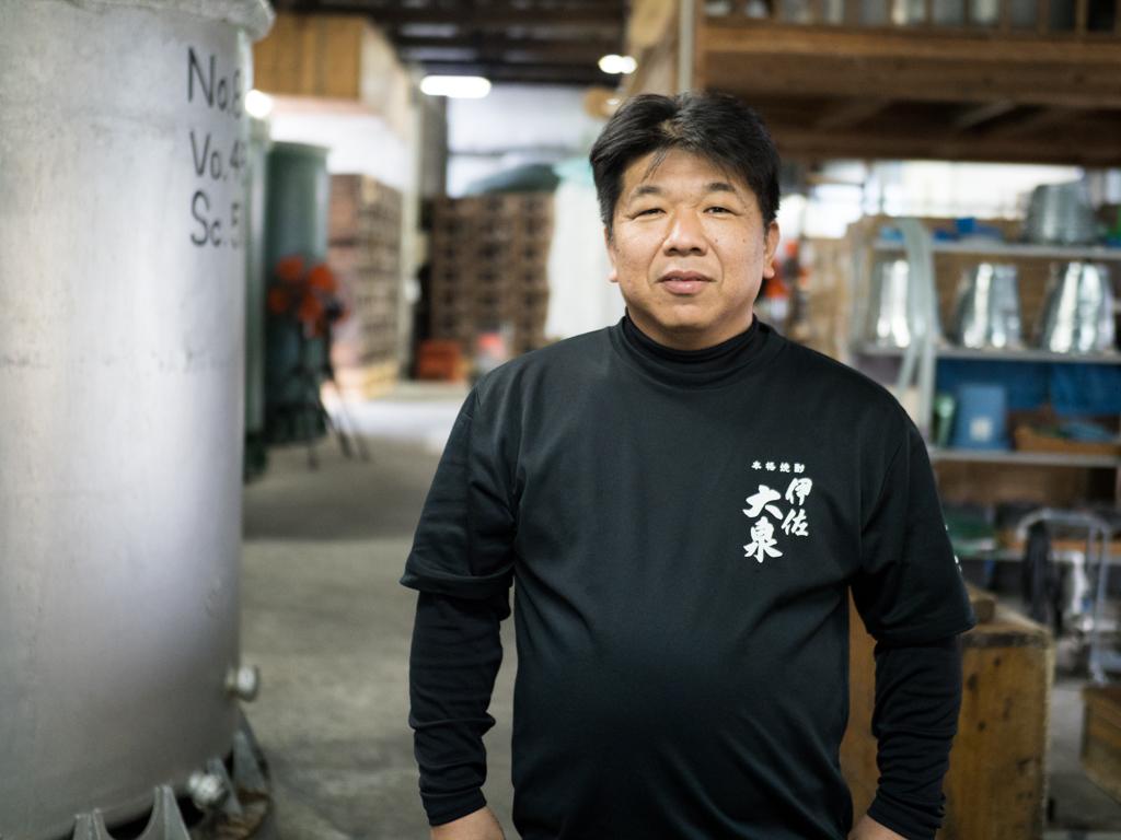焼酎島,芋焼酎,伊佐大泉,大山酒造,山下昭悟