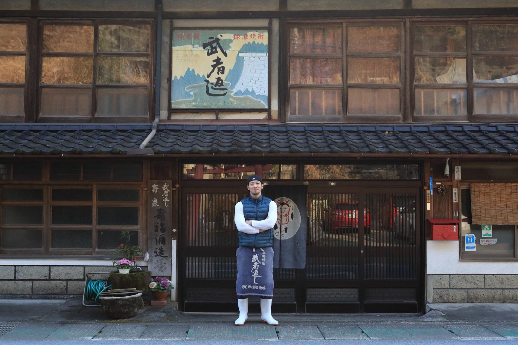 武者返し,寿福酒造場,球磨焼酎,米焼酎,吉松良太,寿福絹子