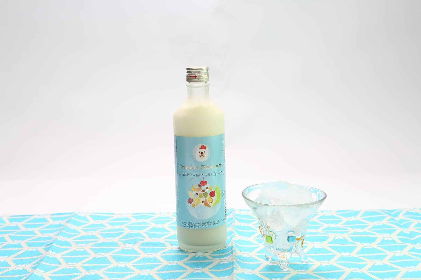 しろくまのお酒,白熊,むじゃき,焼酎,さつま無双,焼酎島